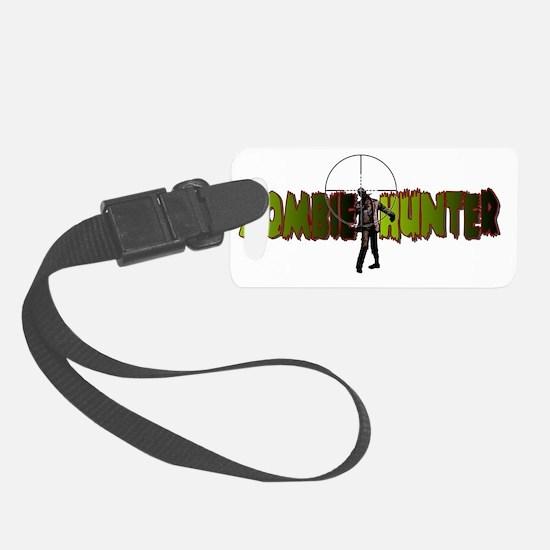 Zombie Hunter Luggage Tag