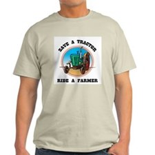 Save a Tractor Light Natural T-Shirt