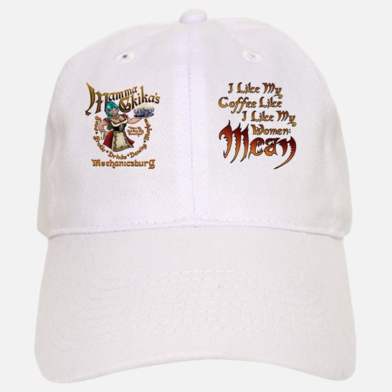 MeanCoffee Baseball Baseball Cap