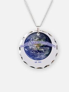planet earth u Necklace