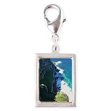 Cape Point Silver Portrait Charm