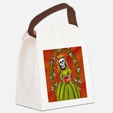 muerta_18x21h Canvas Lunch Bag