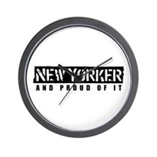 New Yorker 1 Wall Clock