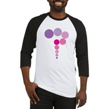 Pink and Purple Question Mark Baseball Jersey