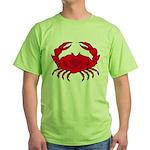 Boiled Crab Green T-Shirt