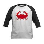 Boiled Crab Kids Baseball Jersey