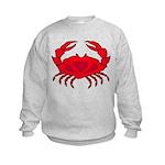 Boiled Crab Kids Sweatshirt