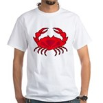 Boiled Crab White T-Shirt