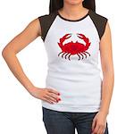 Boiled Crab Women's Cap Sleeve T-Shirt