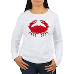 Boiled Crab Women's Long Sleeve T-Shirt