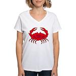 Boiled Crab Women's V-Neck T-Shirt