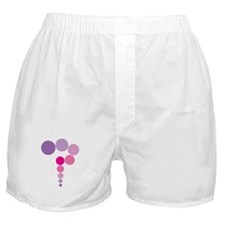Pink and Purple Question Mark Boxer Shorts