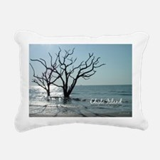 postcard edisto ghost tr Rectangular Canvas Pillow
