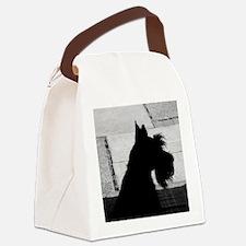 scottieprofile Canvas Lunch Bag