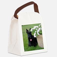 DuganPetunias Canvas Lunch Bag