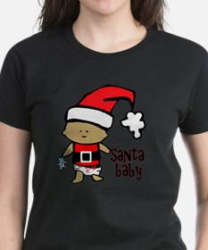 1212 Santa Baby with blue ted Tee