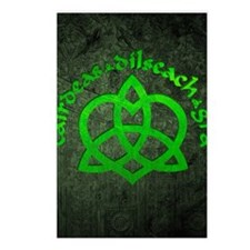 Gaelic-Love-Knot-poster Postcards (Package of 8)