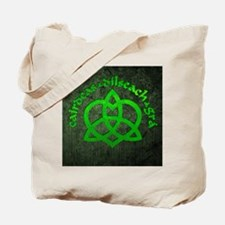 Gaelic-Love-Knot-poster Tote Bag