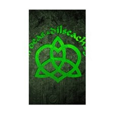 Gaelic-Love-Knot-poster Decal