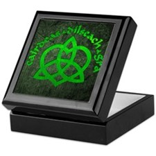 Gaelic-Love-Knot-poster Keepsake Box