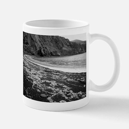 Remote volcanic beach Mugs