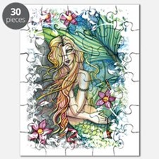 fresh water mermaid for shirts and bags cp Puzzle