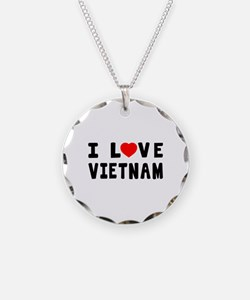 I Love Vietnam Necklace