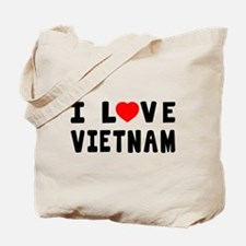 I Love Vietnam Tote Bag