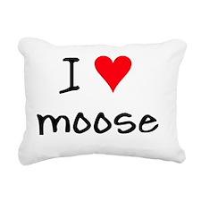 iheartmoose Rectangular Canvas Pillow