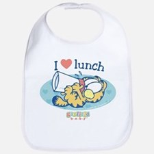 Love Lunch Garfield Baby Bib