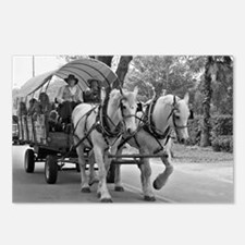 Horse and Wagon Postcards (Package of 8)