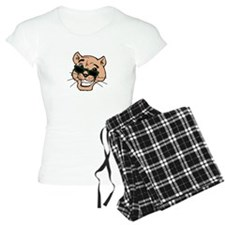 wh color, cougar with shade Pajamas