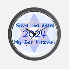 save_the_date_2024_bar Wall Clock