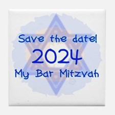 save_the_date_2024_bar Tile Coaster