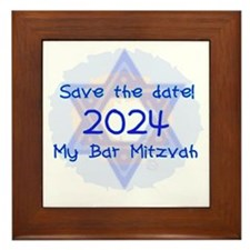 save_the_date_2024_bar Framed Tile