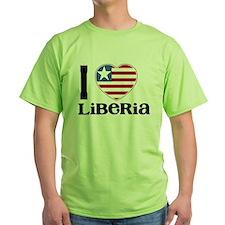 I love Liberia T-Shirt