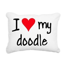 iheartlabradoodle Rectangular Canvas Pillow