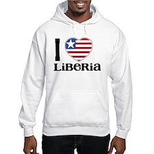 I love Liberia Hoodie