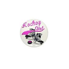 hockey_girl_4 Mini Button