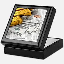 gold_bars_06 Keepsake Box