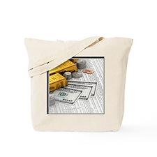 gold_bars_06 Tote Bag