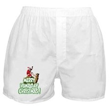 Funny Merry Hump Day Christmas Boxer Shorts