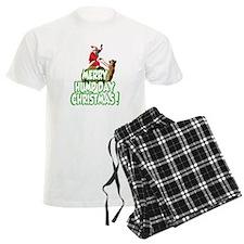 Funny Merry Hump Day Christmas Pajamas