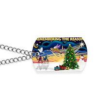 Remember-Christmas Sunrise Dog Tags