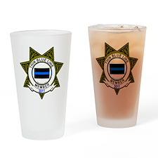 blue line 2011 Drinking Glass