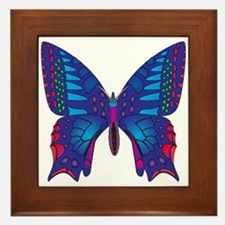 Fantasy Butterfly Framed Tile