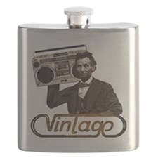 abe lincoln boombox Flask