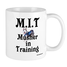 Siberian Husky Dog Sled Musher Mug