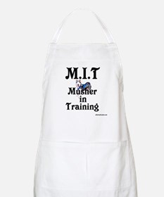 Siberian Husky Dog Sled Musher BBQ Apron