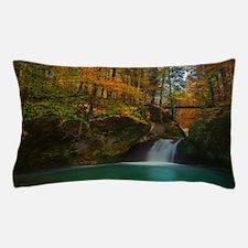 Unique Purple forest Pillow Case